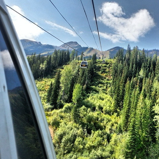 Kicking Horse Mountain gondola