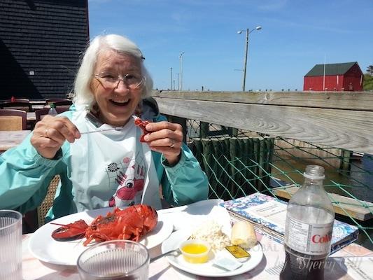 eat lobster