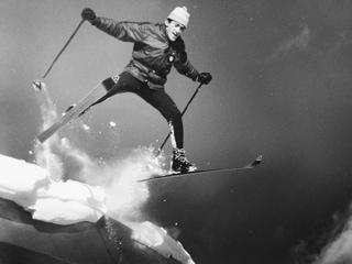 Rudi Gertsch ski jump