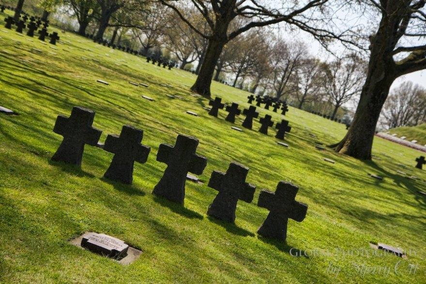 German memorial cemetery normandy