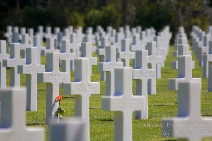 normandy american memorial cemetery