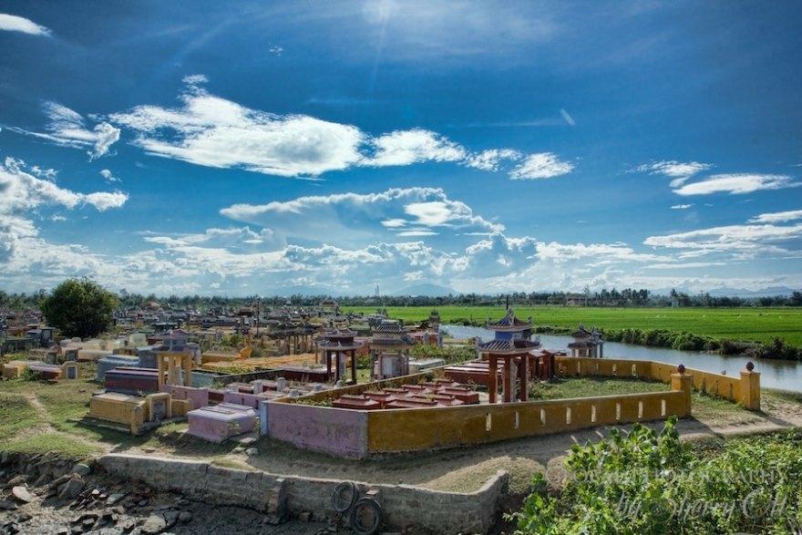 cemetery Hoi An Vietnam