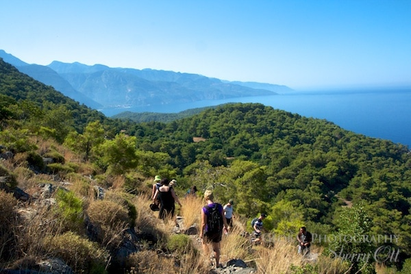Lycian Way views