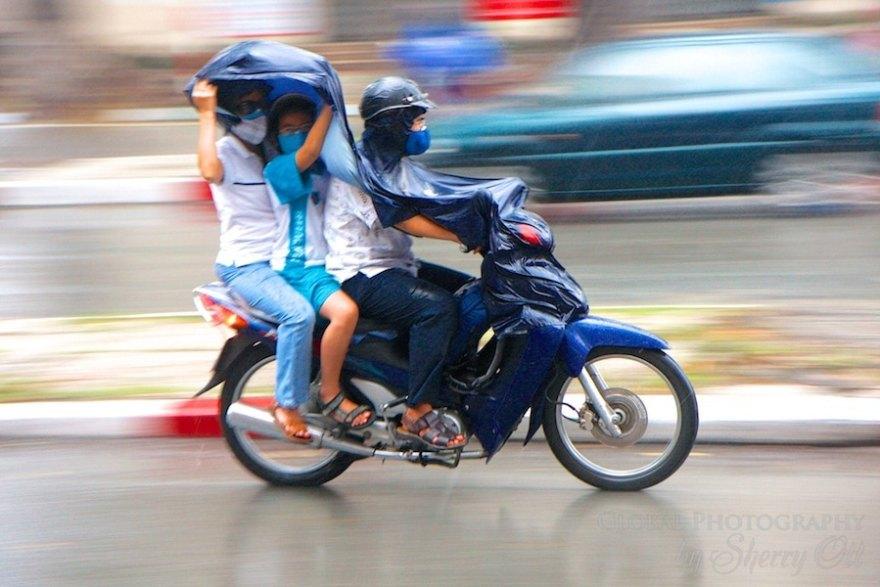 vietnam rainy season photos
