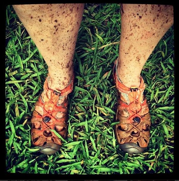 muddy hiking Kauai