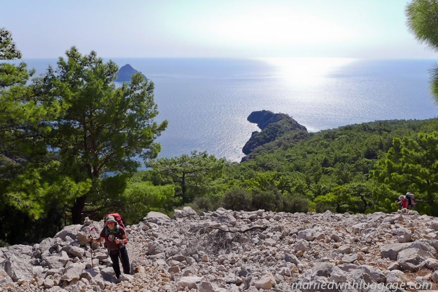 Lycian Way hiking Adrasan