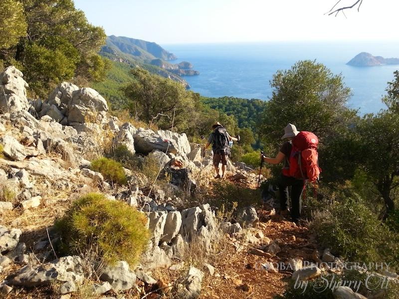 Adrasan hiking