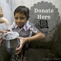 charity water donate