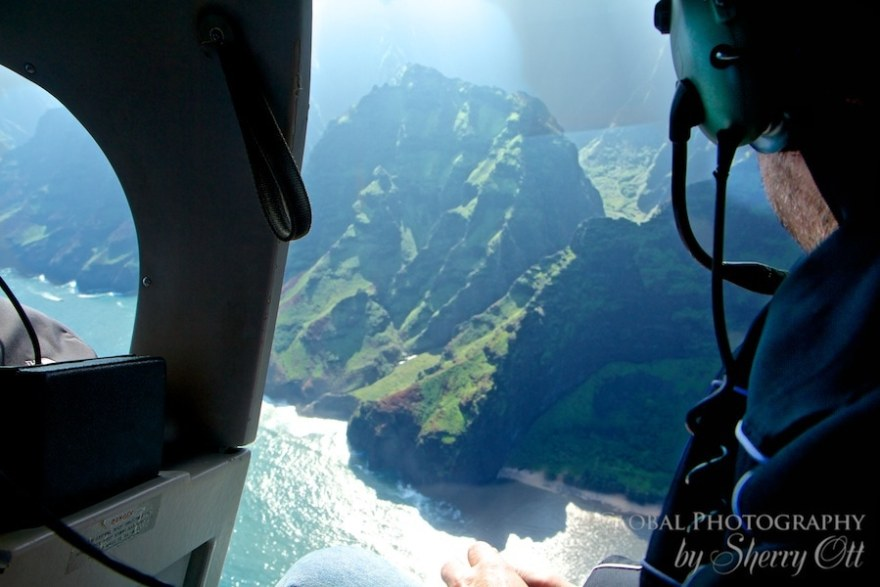 helicopter napali coast