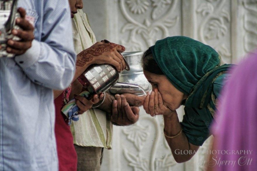 religious water