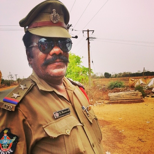 traffic police in India