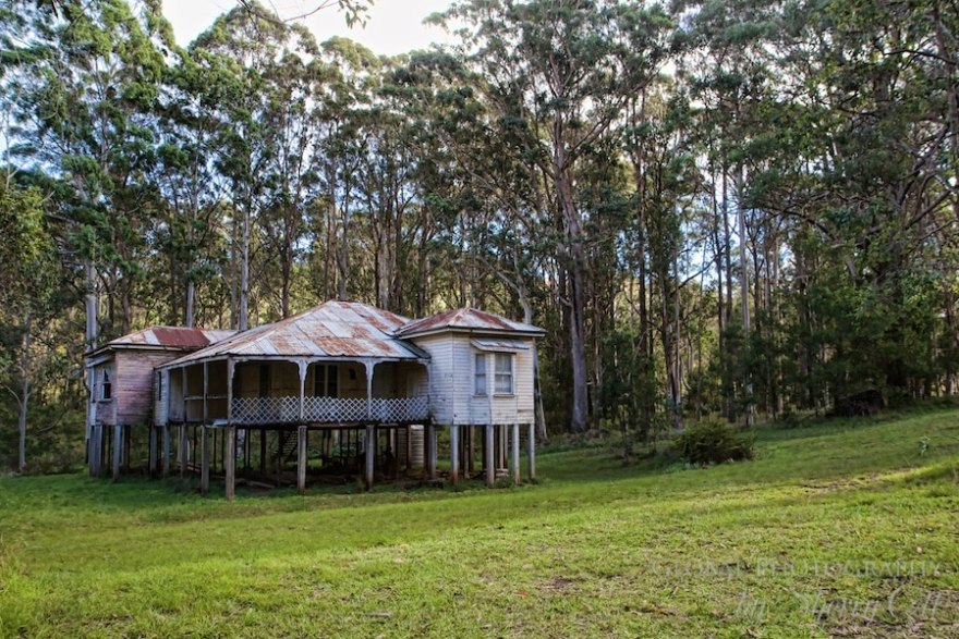 Queenslander house abandoned