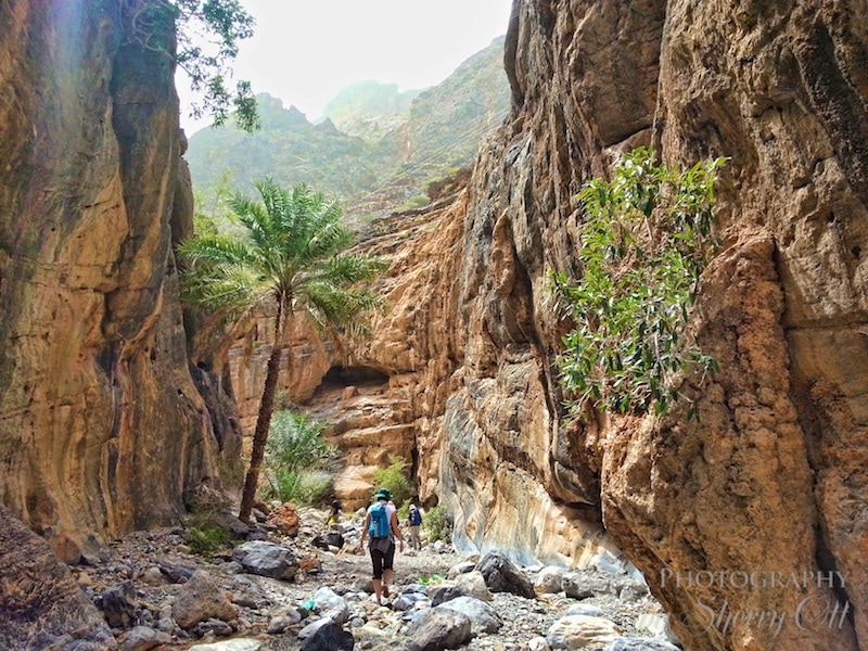 HIking Oman