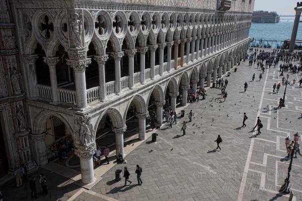 Doges Palace Venice Italy