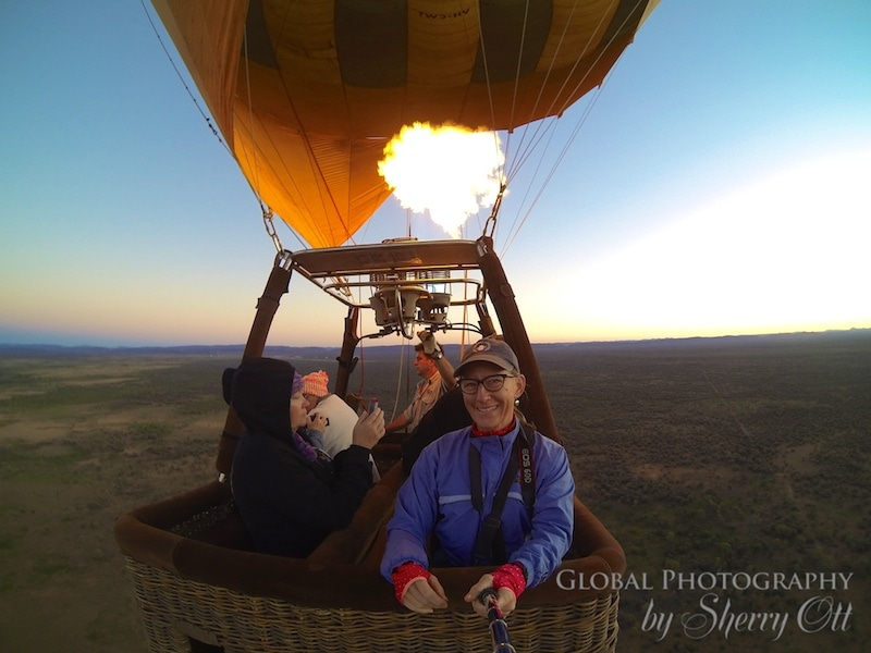 Hot air balloon northern territory