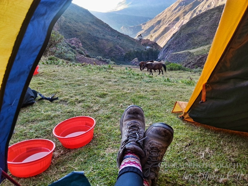 Quarry Trail Andes Peru