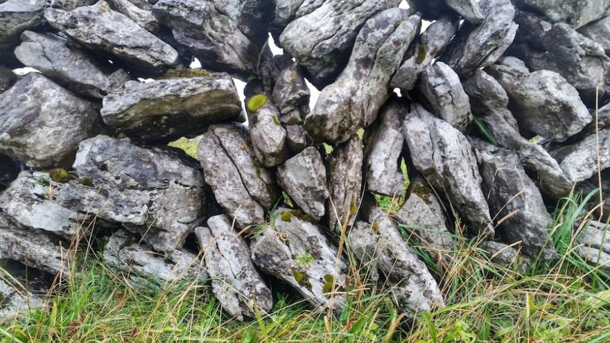 stone walls the burren ireland