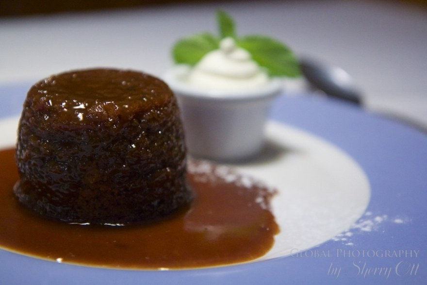 Sticky pudding Bushmills northern ireland