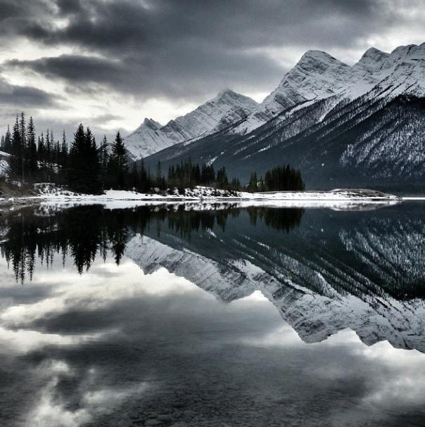 Spray Lakes Alberta