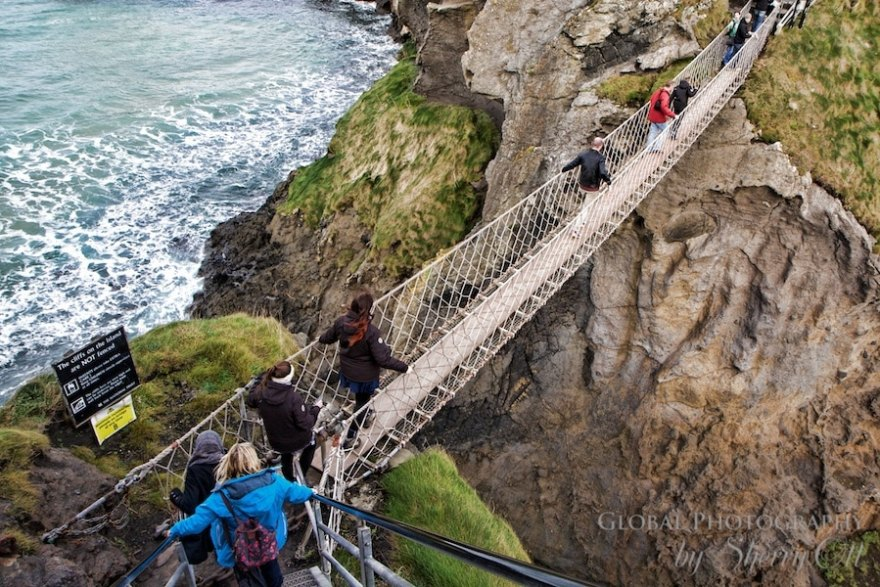 Carrick-a-Rede Rope Bridge Northern Ireland