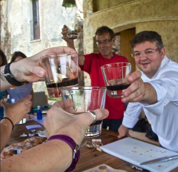 Pyrenees spain toast