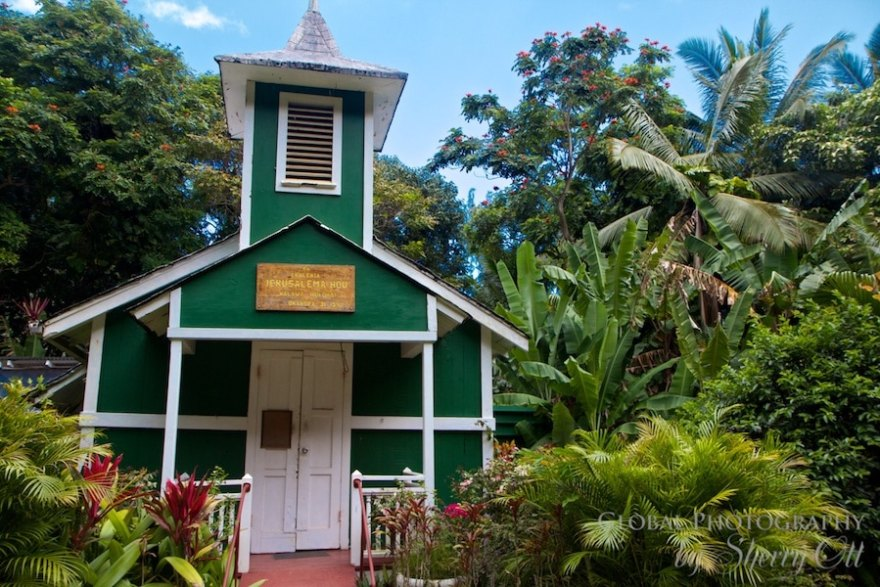 Green church molokai
