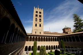 Cloisters and bell tower