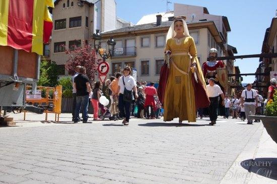 Giatns on parade