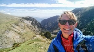 Me doing some Vall de Nuria hiking