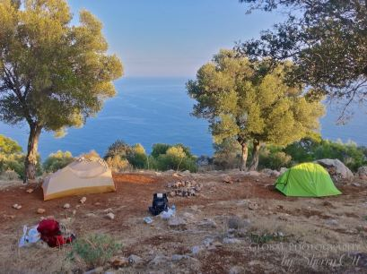 lycian way thru hike camping