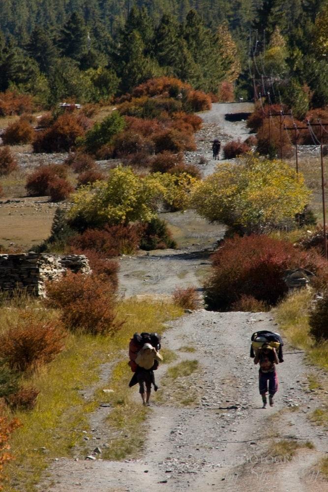 fall colors annapurna trek