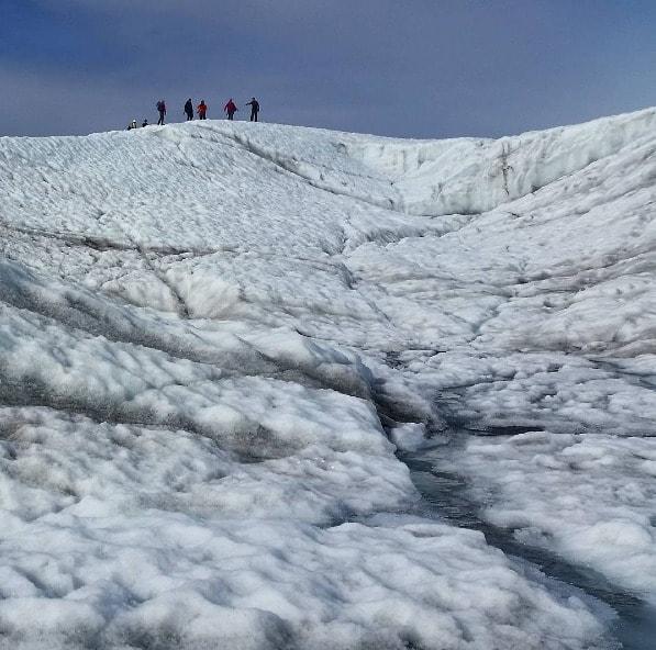 Wrangell st elias national park glacier