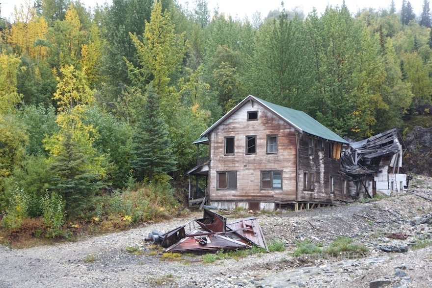 Kennecott Alaska Abandoned