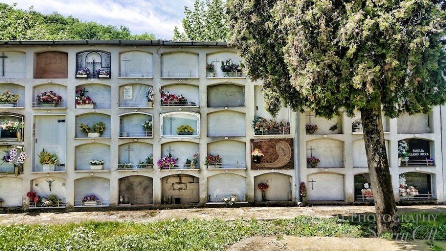 Spain cemetery