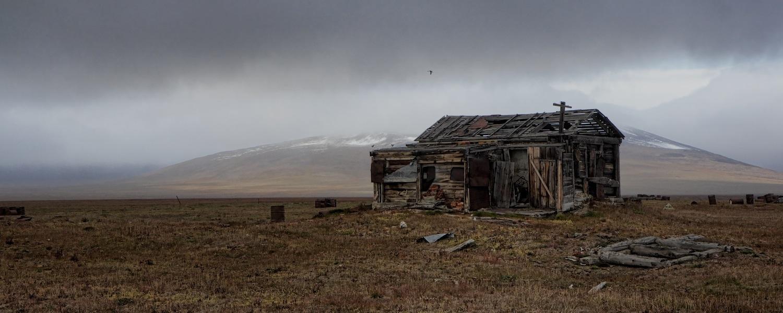 wrangel island abandoned