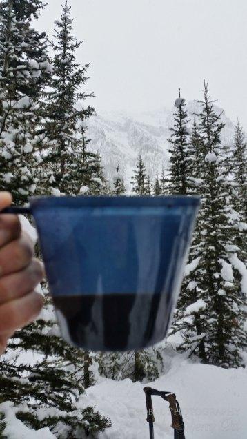 Snowshoeing Banff Alberta 16