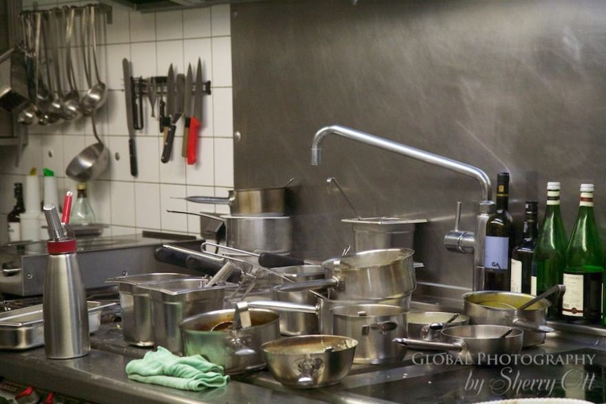 What you learn in a restaurant kitchen