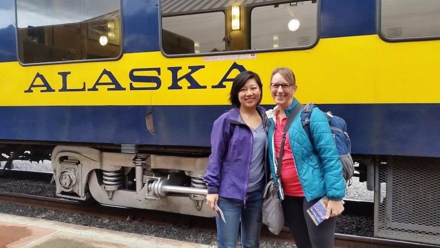 Alaska travel by rail