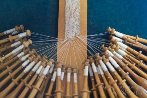 Lace Making Wooden bobbins