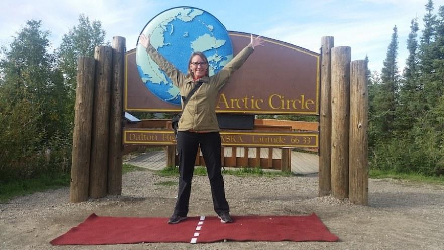 arctic circle crossing dalton highway alaska
