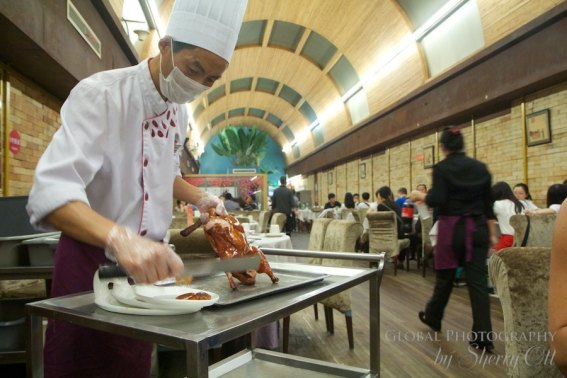 Food in china peking duck