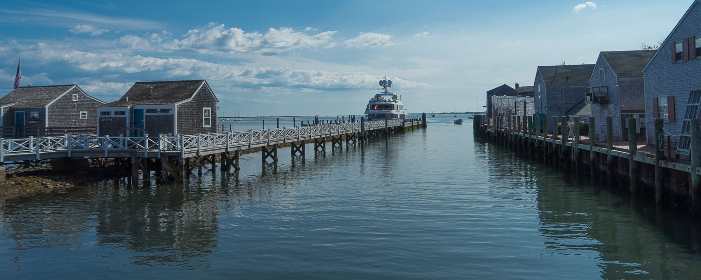 New England seaside town nantucket