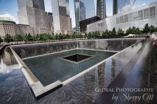 9/11 Memorial lower Manhattan