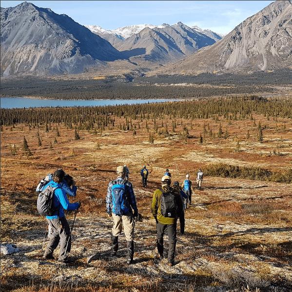 Alaska Wilderness twin lakes
