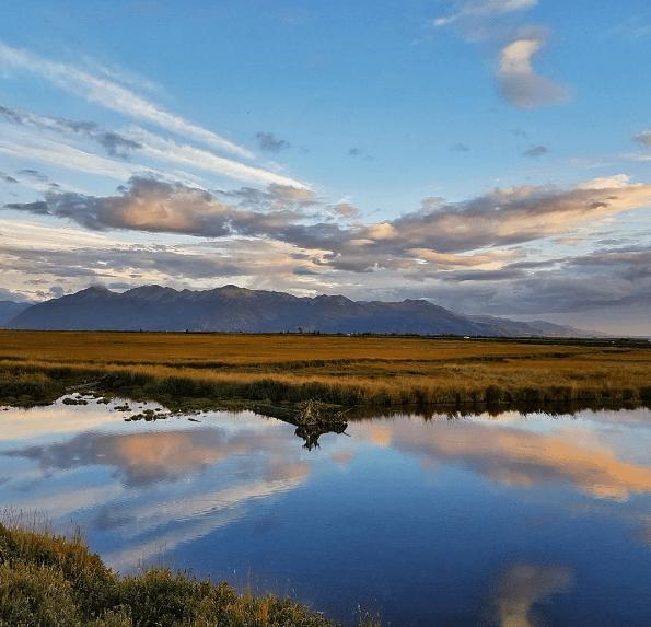 Alaska Wilderness sunset