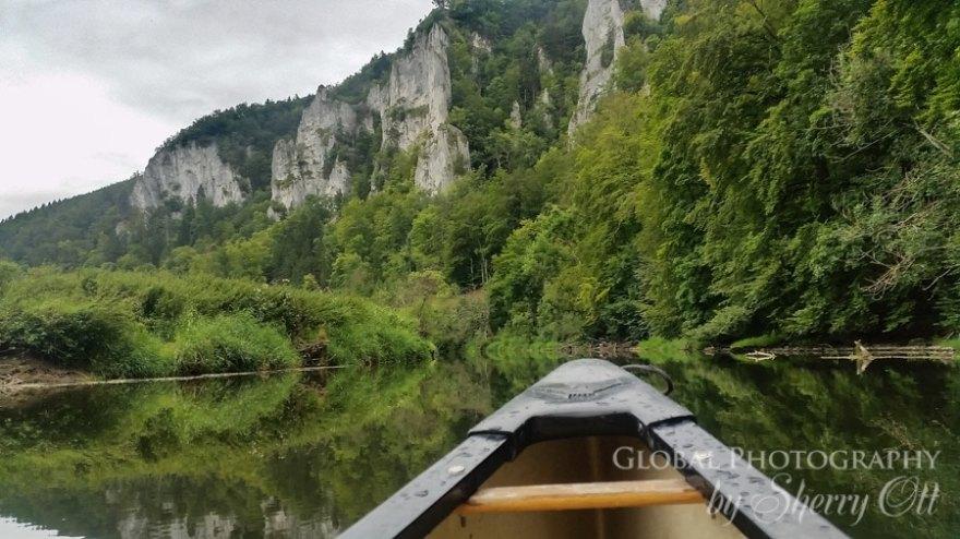danube river canoeing