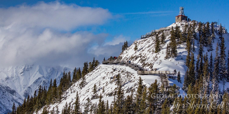 Banff gondola cosmic ray station