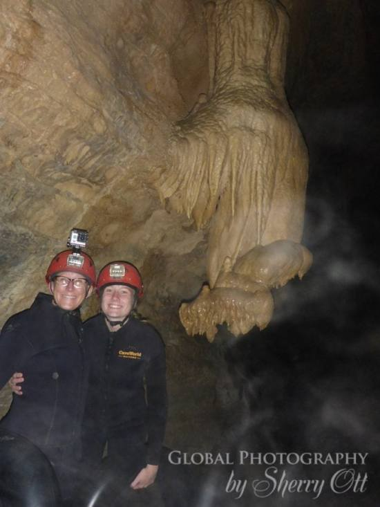 adventure travel new zealand Black water caving