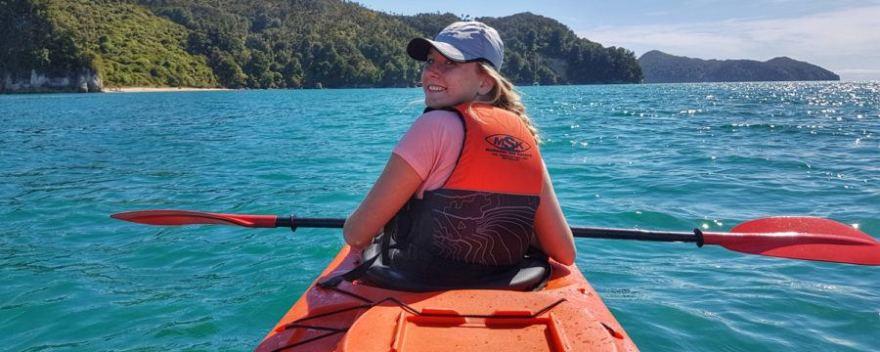 kayaking abel tasman park