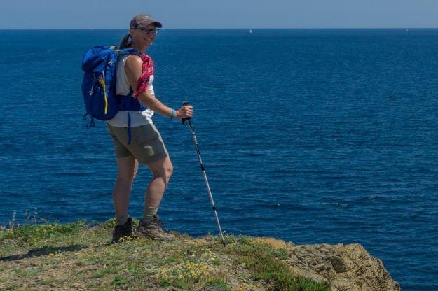 hiking gear photography